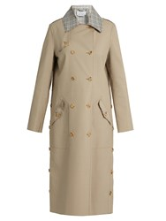 Gabriela Hearst Claremont Reversible Trench Coat Camel