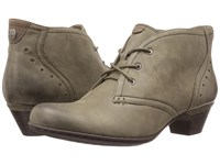 Rockport Cobb Hill Aria Dark Green Women's Lace Up Boots
