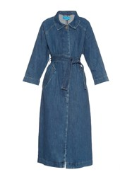 Mih Jeans Raglan Sleeves Denim Coat