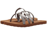 Roxy Benito Pewter Women's Sandals
