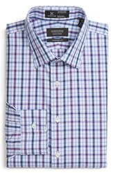 Nordstrom Men's Men's Shop Smartcare Traditional Fit Plaid Dress Shirt