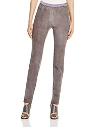 Lafayette 148 New York Suede Front Leggings Bloomingdale's Exclusive Rock