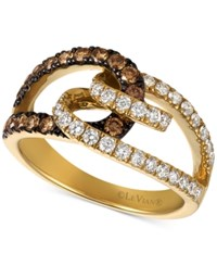 Le Vian Chocolatier Diamond 7 8 Ct. T.W. Ring In 14K Gold Yellow Gold