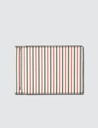 Thom Browne Coated Calf Money Clip Multicolor