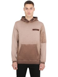 G Star Cotton Blend Hooded Sweatshirt