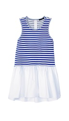 Tibi Racetrack Stripe Sleeveless Top