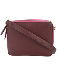 Anya Hindmarch Box Satchel Pink And Purple