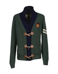 Brooksfield Knitwear Cardigans Men Green