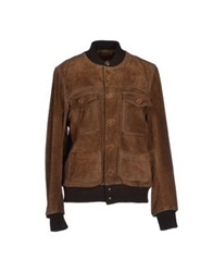 Le Sentier Jackets Brown