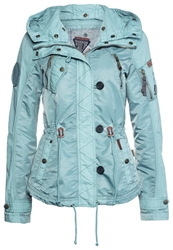 Khujo Riddle Light Jacket Aqua Turquoise