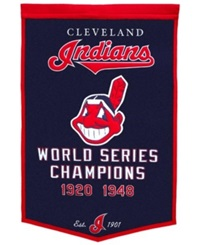 Winning Streak Cleveland Indians Dynasty Banner Team Color