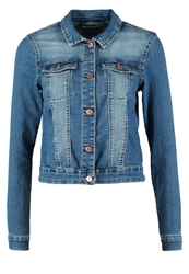 Noisy May Nmdebra Denim Jacket Medium Blue Denim Dark Blue