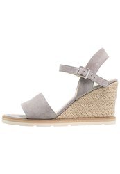 Pier One High Heeled Sandals Grey Light Grey