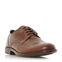Linea Breakfast Casual Lace Up Brogue Shoes Brown