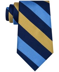 Club Room Men's Triple Bar Stripe Tie Only At Macy's Yellow