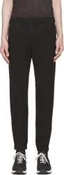Tim Coppens Black Wrinkle Lux Jogger Pants
