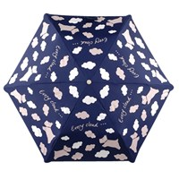 Radley Every Cloud Mini Telescopic Umbrella Navy White
