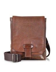 The Bridge By Pininfarina Marrone Crossbody Bag Dark Brown