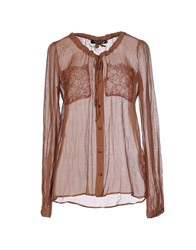 Cristinaeffe Collection Shirts Shirts Women Light Brown