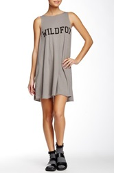 Wildfox Couture Sport Shorts Cassidy Dress Gray