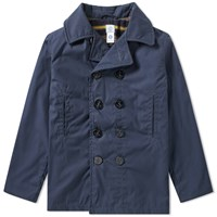 Post Overalls Blanket Lined Peacoat Blue