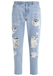 Only Onltonni Relaxed Fit Jeans Light Blue Denim Light Blue Denim