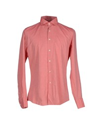 Glanshirt Shirts Shirts Men Coral