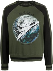 Mr And Mrs Italy Air Force Logo Sweatshirt 60