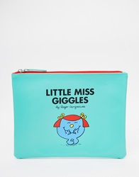Little Miss Giggles Pouch Green