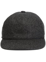 Kiton Tweed Cap Grey
