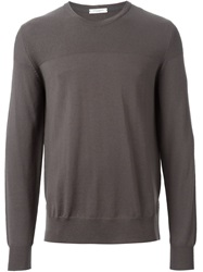Paolo Pecora Crew Neck Sweater Brown