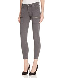 Joie Park Skinny Ankle Zip Pants In Storm