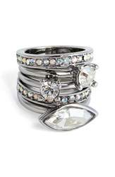St. John Women's Collection Swarovski Crystal Cocktail Ring