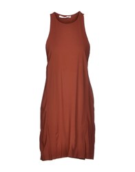 Jucca Short Dresses Brown