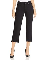 Parker Smith Cropped Straight Leg Jeans In Stallion