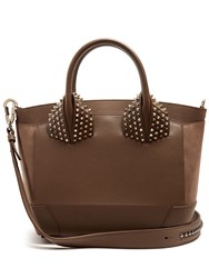 Christian Louboutin Eloise Large Leather Shoulder Bag Khaki
