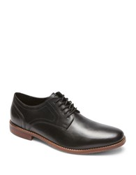 Rockport Style Purpose Leather Oxfords Black