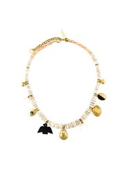 Lizzie Fortunato Jewels 'Land And Sea' Necklace White