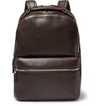 Shinola Runwell Leather Backpack Brown