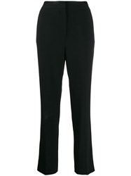 Rag And Bone Tailored Straight Leg Trousers Black