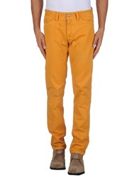 Jaggy Trousers Casual Trousers Men Apricot