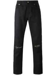 Saint Laurent Original Low Waisted Jeans Black