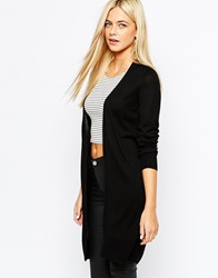Oasis Edge To Edge Cardigan Black
