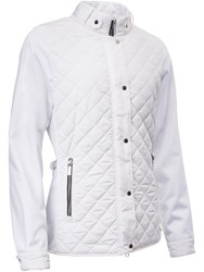 Abacus Winston Quilted Jacket White