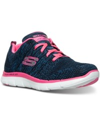 Skechers Women's High Energy Walking Sneakers From Finish Line Navy Pink
