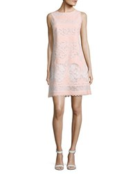 Tommy Hilfiger Embroidered Lace Dress Powder Ivory
