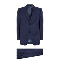 Zilli Wool Two Piece Suit Navy