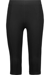 Purity Active Cropped Stretch Leggings Black