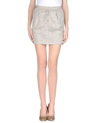 Michelle Windheuser Mini Skirts Beige