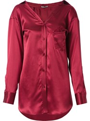 Martha Medeiros Barbara Shirt Red